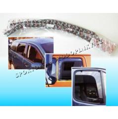 Fiat Doblo 4D (2001+) ofuky na okná predné