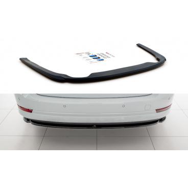 Spoiler pod zadný nárazník pre Škoda Octavia Mk4, Maxton Design (Carbon-Look)