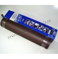 Nalepovacia 2D karbón fólia čierna 100x30 cm