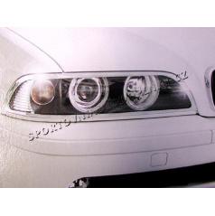 BMW E39 Chróm rámček predných svetiel