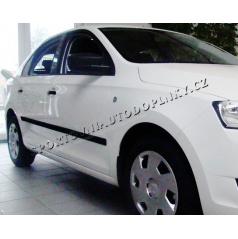 Bočné ochranné lišty dverí, Škoda Rapid 2012+