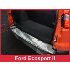Nerez kryt- ochrana prahu zadného nárazníka Ford Ecosport II 2012+
