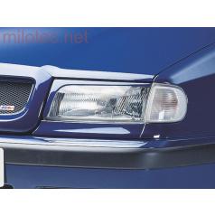 Kryty svetlometov Milotec (mračítka) - ABS čierny, Škoda Felicia Facelift