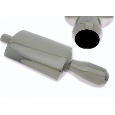 Športový výfuk TurboWorks guľatá koncovka II (63 mm vstup, koncovka 101 mm)