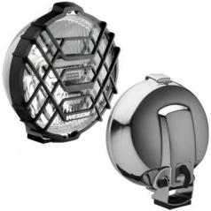 Prídavné diaľkové svetlo okrúhle pr.183mm 1 ks Wesa chróm 183 x 97 mm