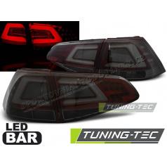VW Golf 7 2013 zadné lampy smoke red LED BAR (LDVW07)