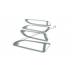 Škoda Yeti - rámčeky okolo kľučiek dverí Aluminium design