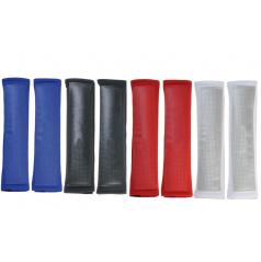 Návleky na pásy carbon štýl červené, modré, čierne, strieborné 2 ks