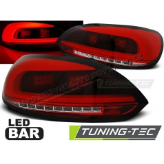 VW Scirocco III 2008 zadné lampy red white LED Bar (LDVWC1)