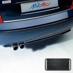 Difúzor s dvojitou koncovkou výfuka - ABS karbon, Škoda Superb