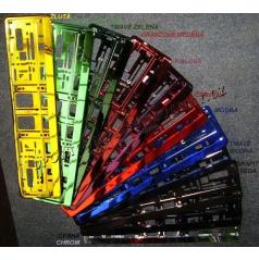 Farebné ŠPZ - 11 farieb, chróm efekt