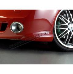 Body-kit RS predné rozšírenie nárazníka, ABS-čierny, Škoda Octavia II RS