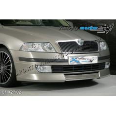 Škoda Octavia II Predný spoiler - pre lak