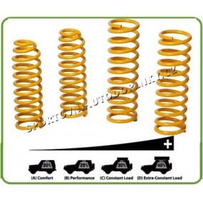 Pružina zesílená přední, zatížení navíc 0-50Kg (Coil Spring) TOY046B - 2ks