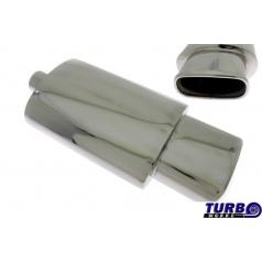 Športový výfuk TurboWorks oválna koncovka 3