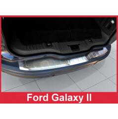 Nerez kryt- ochrana prahu zadního nárazníku Ford Galaxy II 2006-10
