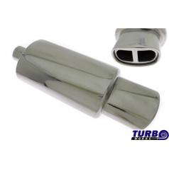 Sportovní výfuk TurboWorks oválná koncovka 2