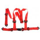 3-bodové bezpečností pásy E homologace Barva: červená