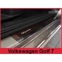 Carbon Sportline ochranné lišty prahu dverí 2ks Volkswagen Golf 7 2012-16