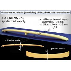 Fiat Siena sedan (97+) spoiler zadnej kapoty