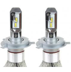 Extra silné led žiarovky H4 CAN BUS do hlavných svetlometov RS + 2 ks