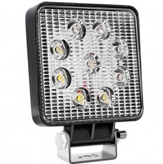 Svetlo pracovné LED hranaté E8