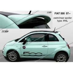 Fiat 500 htb 2007+ zadný spoiler (EÚ homologácia)