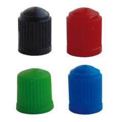Plastové ventilky rôzne farby sada 4 ks