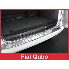 Nerez kryt- ochrana prahu zadného nárazníka Fiat Qubo 2007-16