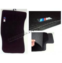 BMW E60 luxusné športové textilné koberce s logom M