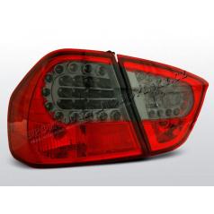 BMW E90 05-08 Zadné LED lampy red, smoke (LDBM52)