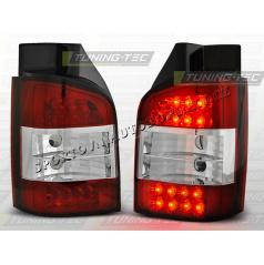 VW T5 2003-09 ZADNÍ LED LAMPY RED WHITE (LDVW27)