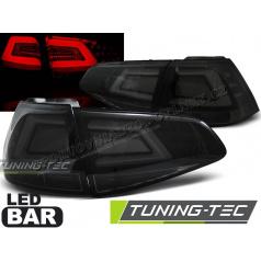 VW Golf 7 2013 zadné lampy smoke black LED Bar (LDVW03)