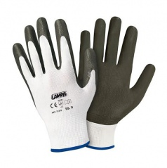 Pracovné rukavice s nitrilovým povlakom dlane