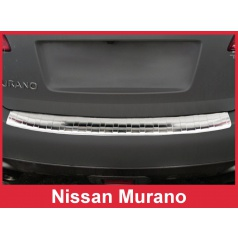 Nerez kryt- ochrana prahu zadního nárazníku Nissan Murano Z51 2008-16