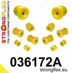 BMW rad 7 Strongflex Šport zostava silentblokov len pre zadnú nápravu 8 ks