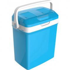 Chladící / ohřívací box modro-bílý 18 L 12V/220V