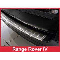 Nerez kryt-ochrana prahu zadního nárazníku Land Rover Range Rover IV 2012+