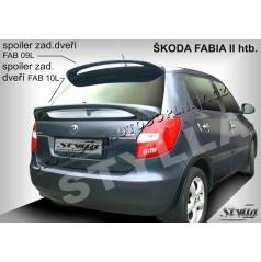 Škoda Fabia II htb spoiler zadných dverí spodnej (EÚ homologácia)