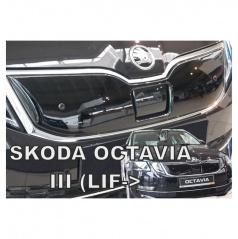 Zimná clona - kryt chladiča horná - Škoda Octavia III, 2016+ po facelifte