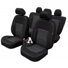 Veľmi kvalitné autopoťahy Dacia Duster III od 10/2017 (delená zadná sedačka + predná lakťová opierka)