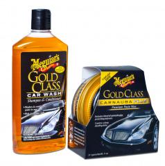 Meguiar 's Gold Class Wash & Wax Kit exkluzívna sada autokozmetiky na umývanie a ochranu laku