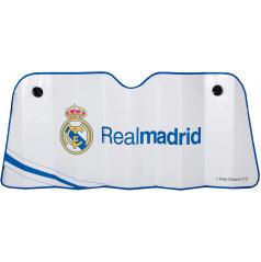 Originálne slnečná clona pod predné sklo s logom REAL MADRID 145x80 cm