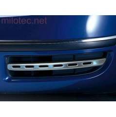 Lišty bočného sania predného nárazníka - ABS Chróm look matný, Škoda Superb