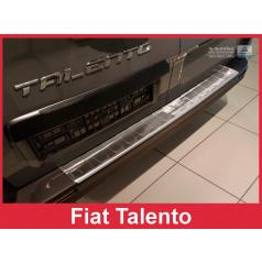 Nerez kryt- ochrana prahu zadního nárazníku Fiat Talento 2015-16