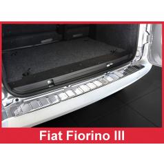 Nerez kryt- ochrana prahu zadného nárazníka Fiat Fiorino III 2007+