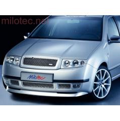 Spoiler Milotec - predný Škoda Fabia