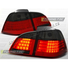 BMW E61 2004-07 zadné LED lampy red smoke (LDBM34)