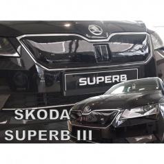 Zimná clona - kryt chladiča horný - Škoda Superb III, 2015 +