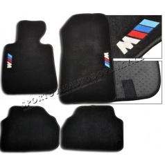 BMW E92, 93 Coupe luxusné športové textilné autokoberce so znakom M-Power